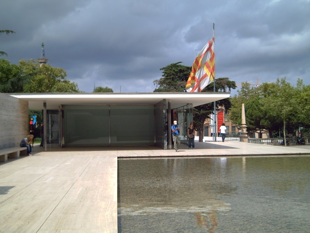 Modern Architecture: Mies Van der Rohe Pavilion in Barcelona
