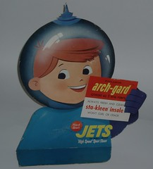 Red Ball Jets Space sign