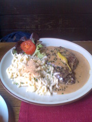 Beef with Spätzle