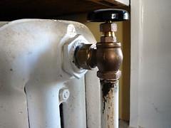 New valve installed