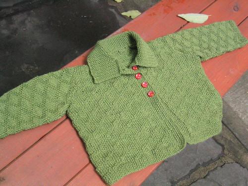 Diamond-seed Baby Jacket