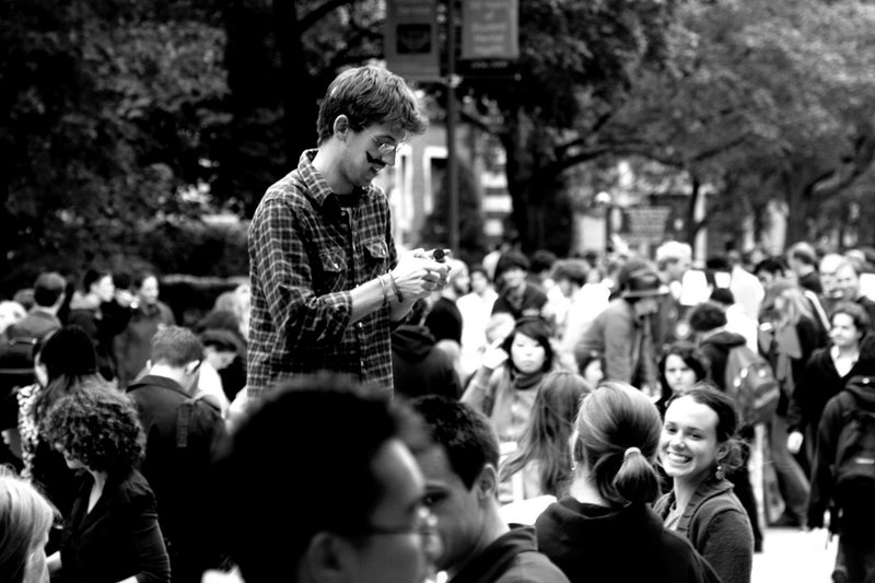 The good 'ol Registered Student Organization Fair