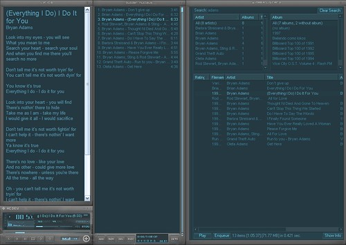 Plugin lyrics para Winamp