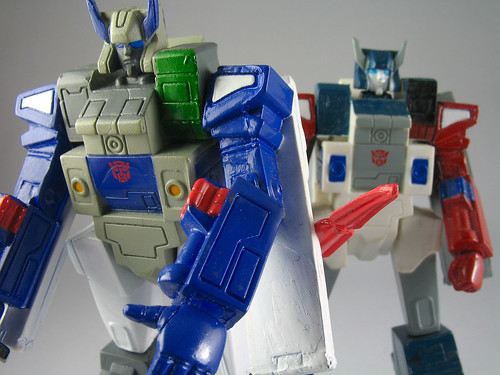 TF Headmasters - Brothers Fortress Maximus and Grand Maximus