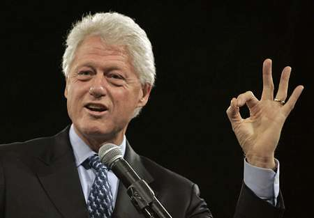Secretary of Intern Hiring Bill Clinton