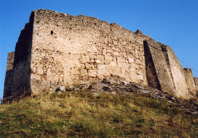 The main keep of the castle of Boudonitsa, Greece