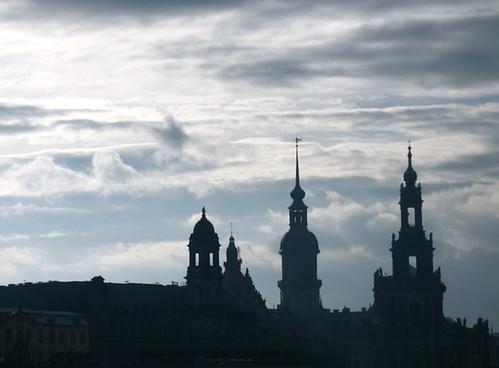 Dresden Skyline, Dusk
