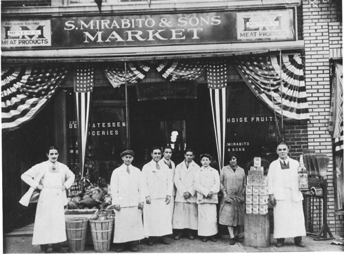What did the underhill ave stores look like in the 1920s