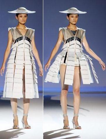 Falda que se abre automáticamente class=