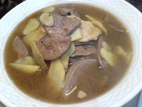 Ginger Wine Liver And Meat + Recipe