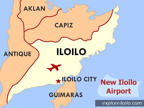 New Iloilo Airport Project Explore Iloilo - Iloilo city map
