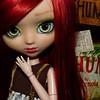 Nouvelle custo pour ma Pullip kit Mio ! Il serait temps de lui trouver un prénom... FC by me ~
