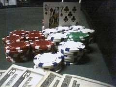 Poker; CC-licensed; Quelle: http://flickr.com/photos/leia/10336834/