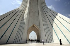 Azadi Tower - Azadi Sq. - Western Tehran photo by iRAN Project