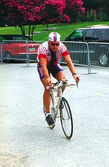 Armstrong warmup, 1996 Olympics