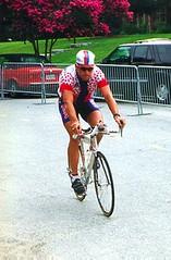 Armstrong warmup, 1996 Olympics