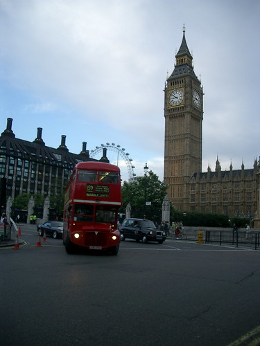 Big Ben & London Eye