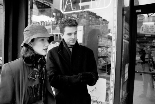 Kate and John on the street
