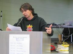 Lynn Breedlove reading at the Bay Area Anarchist Book Fair