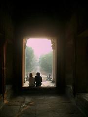 Dentro del templo