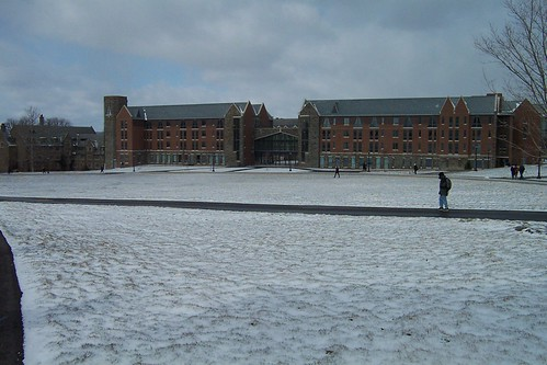 snow at court