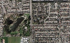 My childhood, seen by Google Maps
