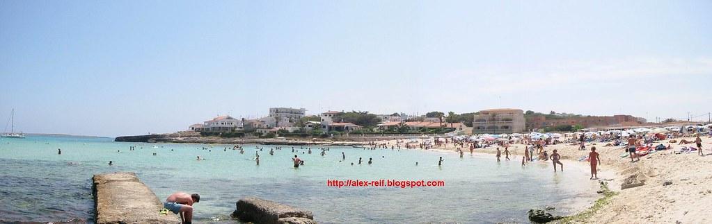 Punta Prima Minorca Spiaggia Spiaggia di Punta Prima