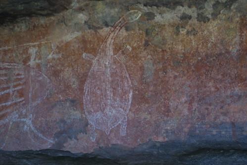 Rock art Ubirr Rock