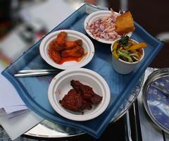 Momma Cherri's Soul in a Bowl Food at the Pleasance Dome for Edinburgh Festival Fringe
