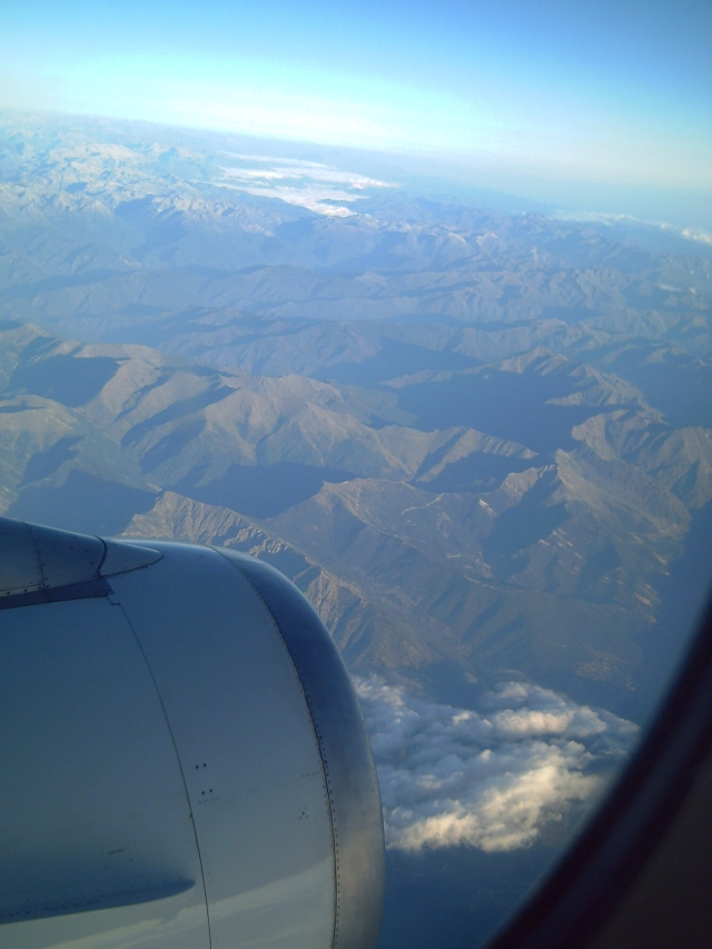 Aerial Shot of the Pyrenees