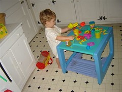 Playdoh Table