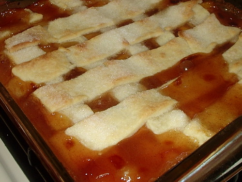 Stephen's Peach Cobbler