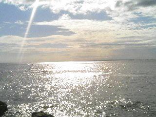 鋸南町のビーチ