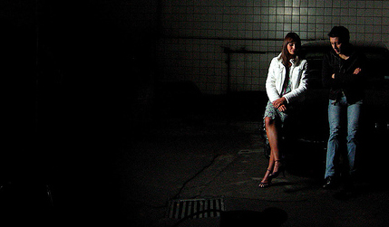 La fotografía se titula 'Conversación' y está extraída del álbum en Flickr de El Ogro
