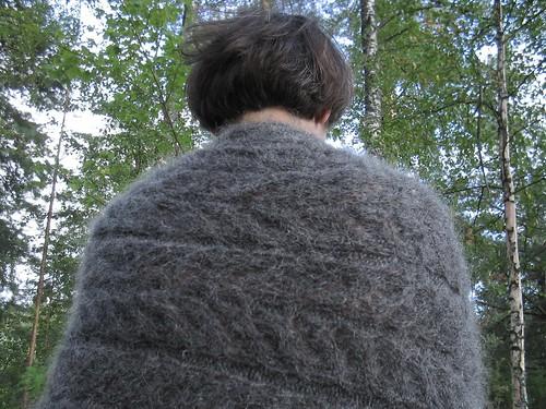 very hairy shawl
