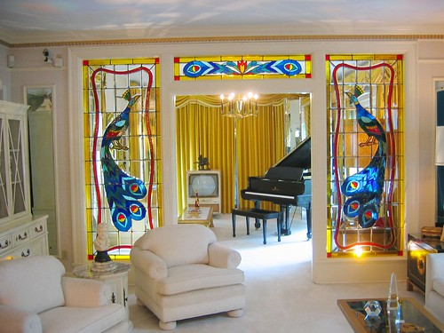 living room in graceland