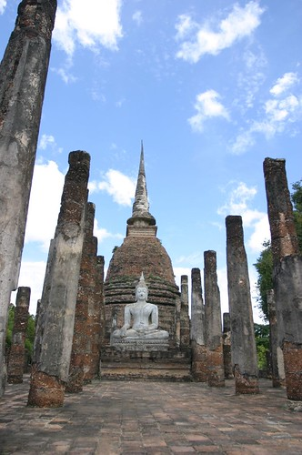 Budda and Temples  in Sukhothai 09
