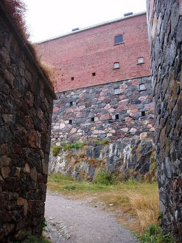 Courtyards on Suomenlinna