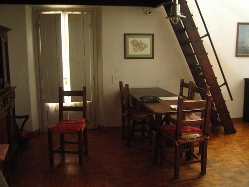Our Dining Room and Balcony Doors