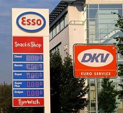 Benzinpreise auf historischem Tief