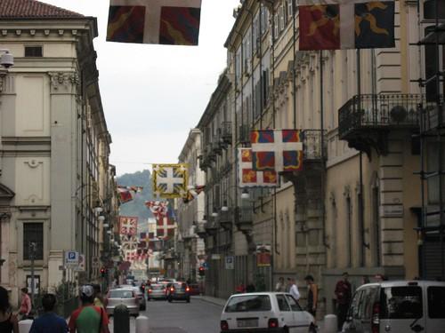 Turin, Italy Stree Scene