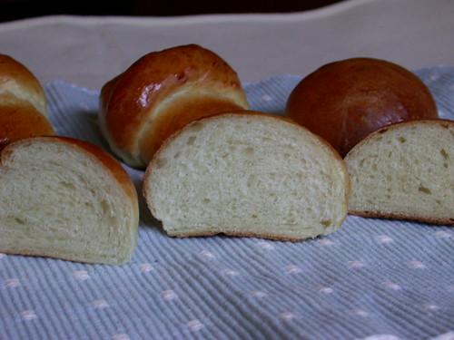 天然酵母パン3種焼き上がり