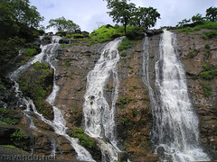 Water fall at Tamahini Ghat