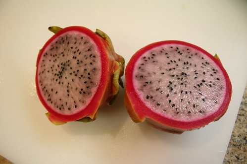 dragonfruit cross section