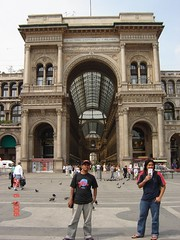 Galleria Vittoro Emanuele II di Piazza del Duomo, Milan, Italy
