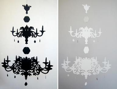 chandelier black  1