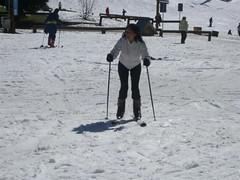Cerro Catedral - 08 - Ruth skiing