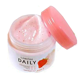laneige strawberry yogurt pack