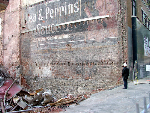 "Ghost Signs"" - the art of Old Brick Wall Advertising"