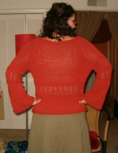Simple Knitted Bodice Back